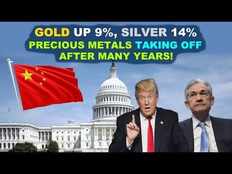 Washington Shutdown, Yield Inversion, Silver Explodes: Pure Silver Mining Stock REBOUNDS SHARPLY!