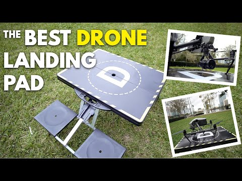 The Best Professional Drone Landing Pad!