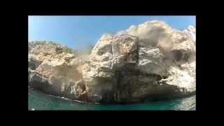 Deep Water Soloing DWS in Mallorca  2012