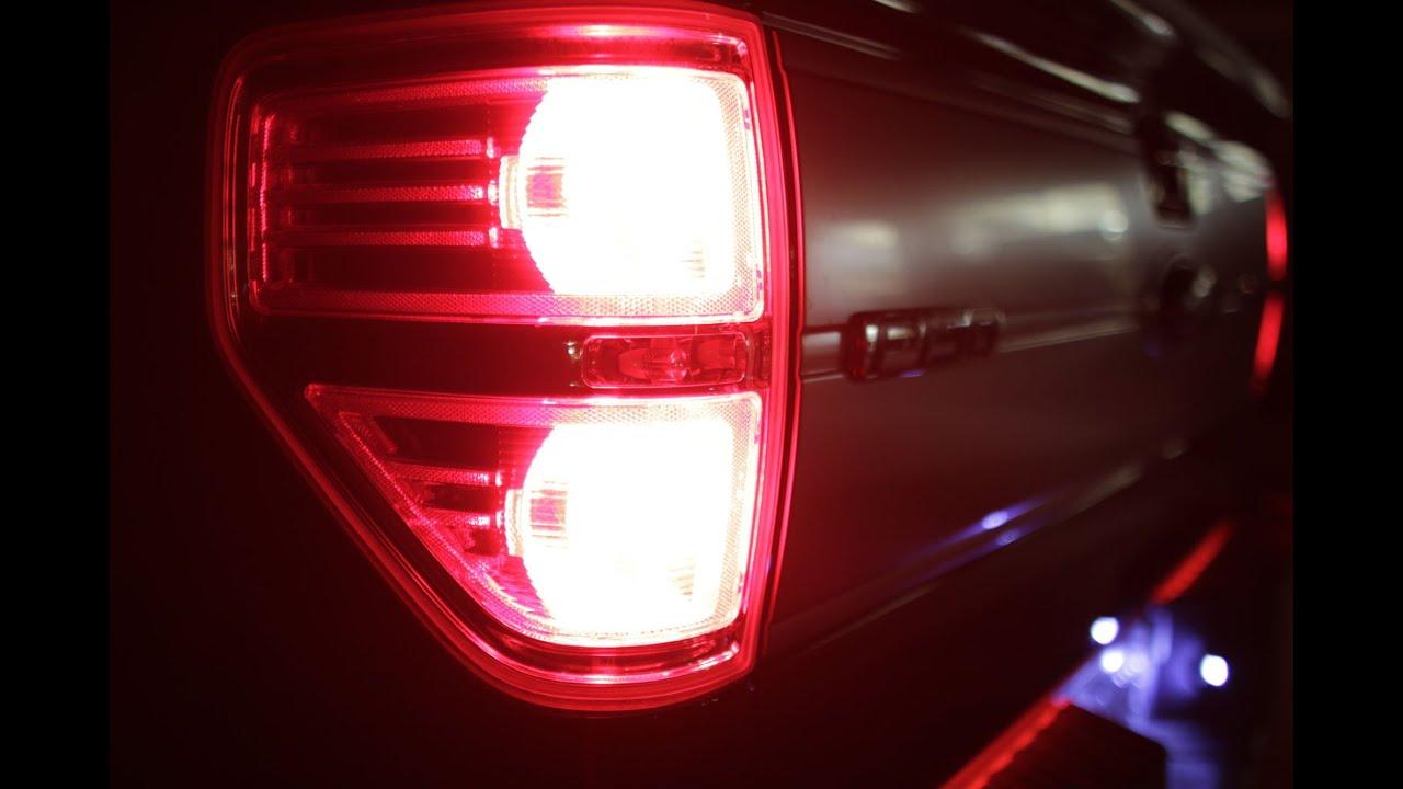 2009 14 F150 Cree Led Brake Light Turn Signal Install F150ledscom 2013 Ford F 150 Power Mirror Wiring Diagram Youtube