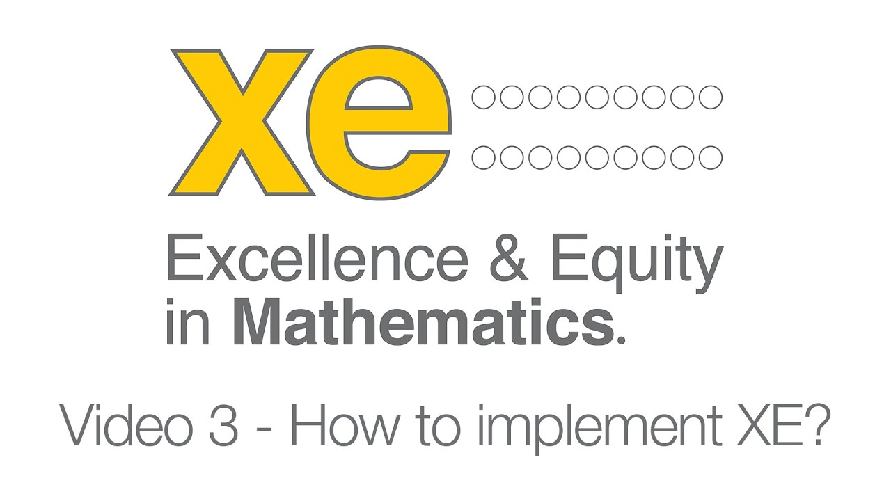 XE Video 3 - 'How to implement XE.'