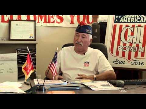 KQED Interview With Latino Vietnam War Veterans At The San Jose American G.I. Forum