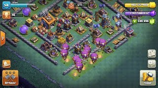 ||BALLOONS LEVEL 16 ATTACK AT BUILDER HALL LEVEL 8|| CLASH OF CLANS|.