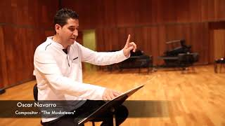 Making of 'THE MUSKETEERS' - Oscar Navarro & Barcelona Clarinet Players.