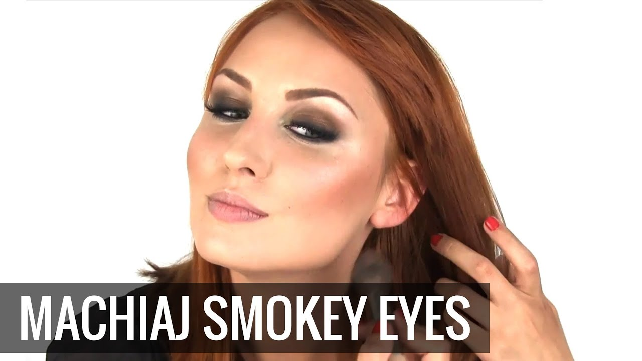 Machiaj Smokey Eyes Tutorial Step By Step Pentru Un Machiaj De