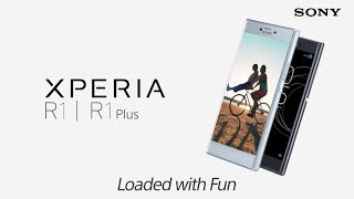SONY XPERIA R1 & R1 Plus official video