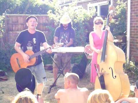 "POG - ""In Heaven"" at their 'Beside The Birdbath' garden party"