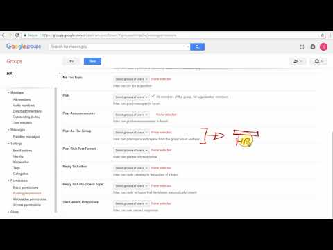 G suite administrator course - Working with Google Groups