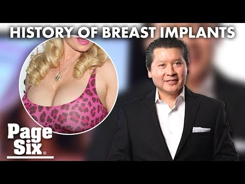 Celebrity Plastic Surgeon Breaks Down Breast Implants | Page Six
