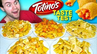 I tried every kind of Totino's Pizza Rolls... and MORE! - Taste Test REVIEW!