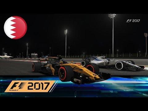 F1 2017 #007 [HD] - Sakhir (Bahrain GP), Training, Renault - Let's Play F1 2017