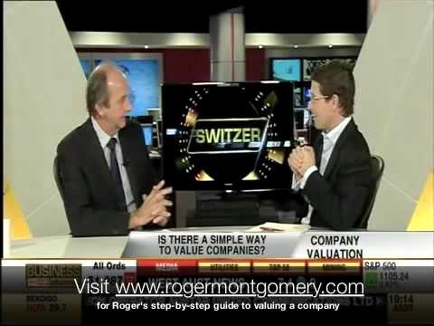 What is Roger Montgomery's valuation formula?