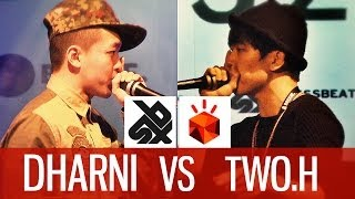 DHARNI (SNG) vs TWO.H (KOR) | Grand Beatbox Battle 2014 | FINAL