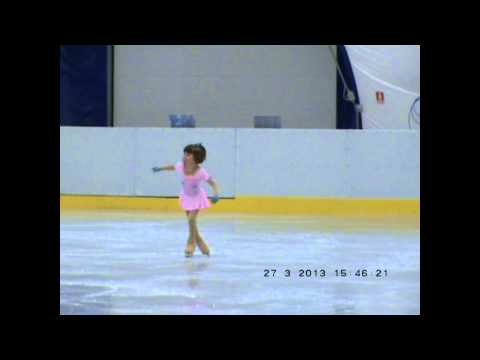 Maria Ionescu Categoria Copii Campionat national de Patinaj Artistic