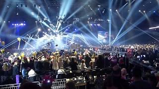 Benjamin Ingrosso-Dance You Off LIVE i HD. Vinnaren av Melodifestivalen 2018