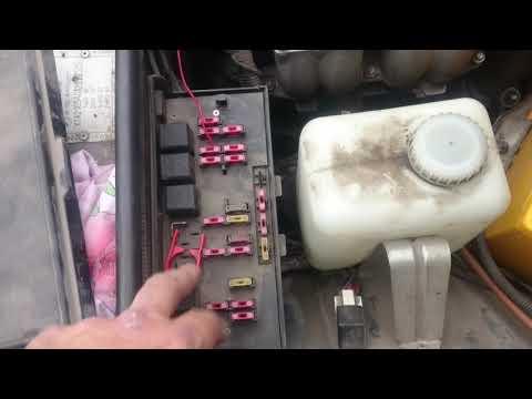 Не горят габариты и панель приборов ВАЗ 2105, 07. Заколхозил