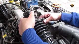 Замена патрубка воздушного фильтра (гофры) на Ланос ( Lanos replacement air corrugations )