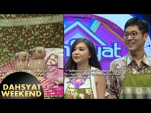 Kemesraan Putri Titian & Junior buat kerajinan gerabah [Dahsyat] [21 Nov 2015]