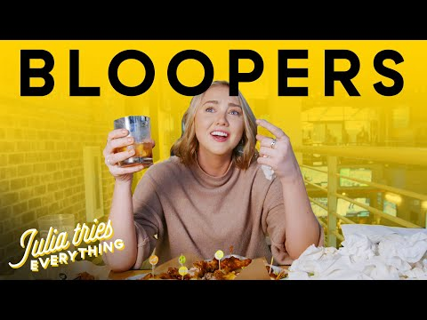 BEST Julia Tries Everything Bloopers From Season 1 | Delish