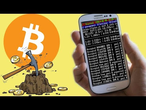 Bitcoin mining am Handy | Smartphone | App