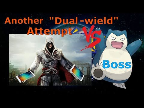 """Another """"Dual-wield"""" attempt on Snorlax boss!"""