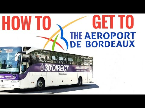 How To Get To The Airport In Bordeaux - Bus Ticket Prices And Timetable