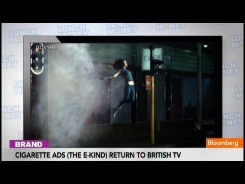 Couple Jumps Through Vaper in New E-Cigarette Ad