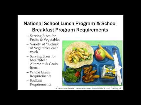Selling to K-12 School Meals Programs: A Webinar Series for Vermont Producers (PART 1)