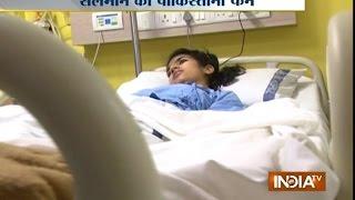 Saba Suffering from Wilson's Disease Wants To Meet Salman Khan - India TV