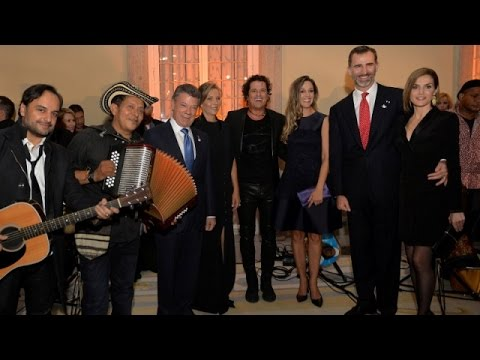 Official reception held at El Pardo Palace in Madrid