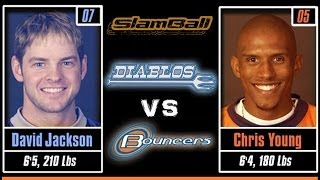 SlamBall Playoffs [FULL GAME] Diablos vs Bouncers - S1