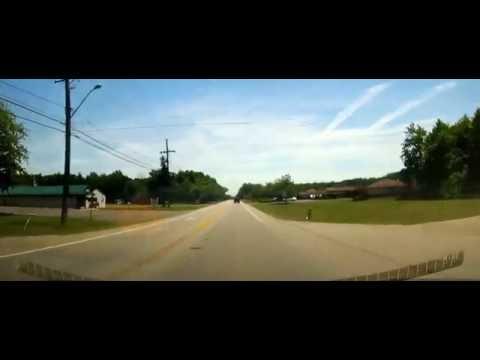 Driving from Ashtabula, Ohio to Conneaut Lake Park, Pennsylvania