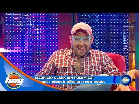 ¡Mauricio Clark responde a las críticas! | Hoy