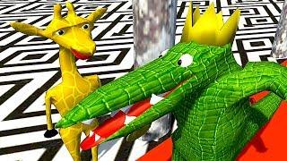 【小熙解说】野生动物运动会 一款学了三年动画做出来的游戏