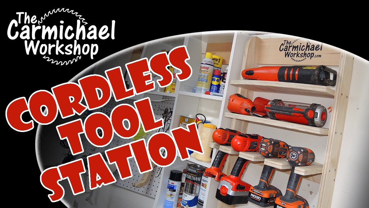 Cordless Tool Charging Station Youtube