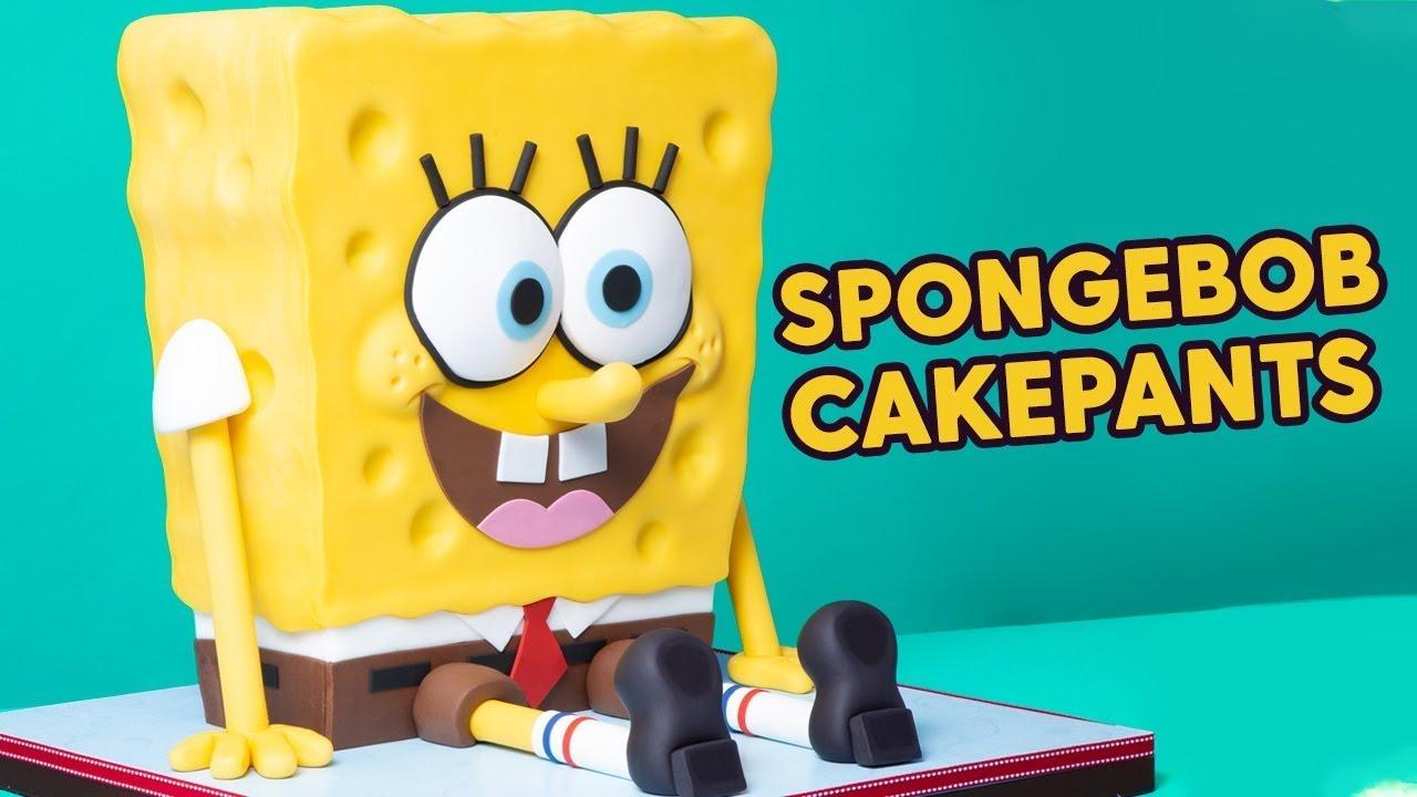 SpongeBob or CAKE? Sponge On The Run Movie   How To Cake It with Yolanda Gampp