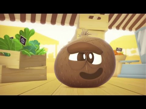 Learn Fruits and Vegetables for Kids : The Coconut