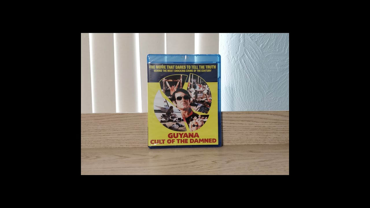 Download Guyana Cult of the Damned Unboxing And Other Blu-Ray Pickups