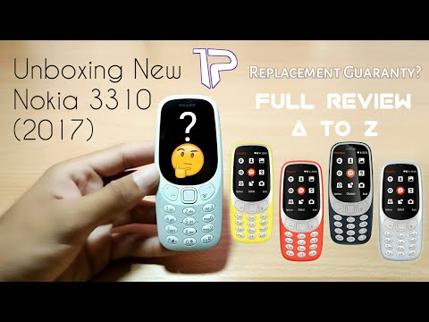 Nokia 3310 (2017) Unboxing || Hands On Full Review || 2G,3G or 4G?