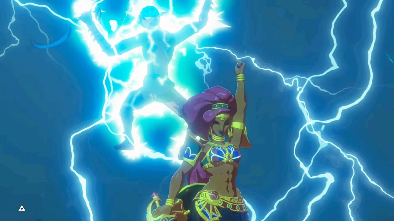 Zelda Botw Dlc 2 Thunderblight Ganon Boss Fight Master Mode