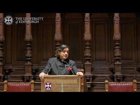 Dr Shashi Tharoor - Looking Back at the British Raj in India