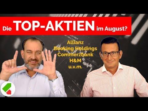 Allianz, Booking Holdings, Commerzbank, H&M Uvm. | Feedback August | Echtgeld.tv (14.08.2019)
