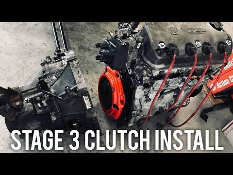 STAGE 3 CLUTCH & LIGHTWEIGHT FLYWHEEL INSTALL | Project Civic EG
