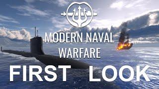 EXCLUSIVE First Look aт New Sub Sim Modern Naval Warfare!