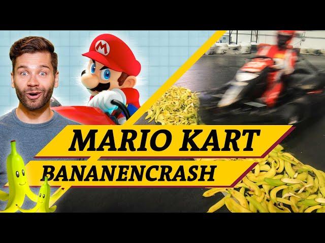 Mario Kart: Rutschen Go Karts auf Bananen? (Science vs. Fiction feat. @Game Two )