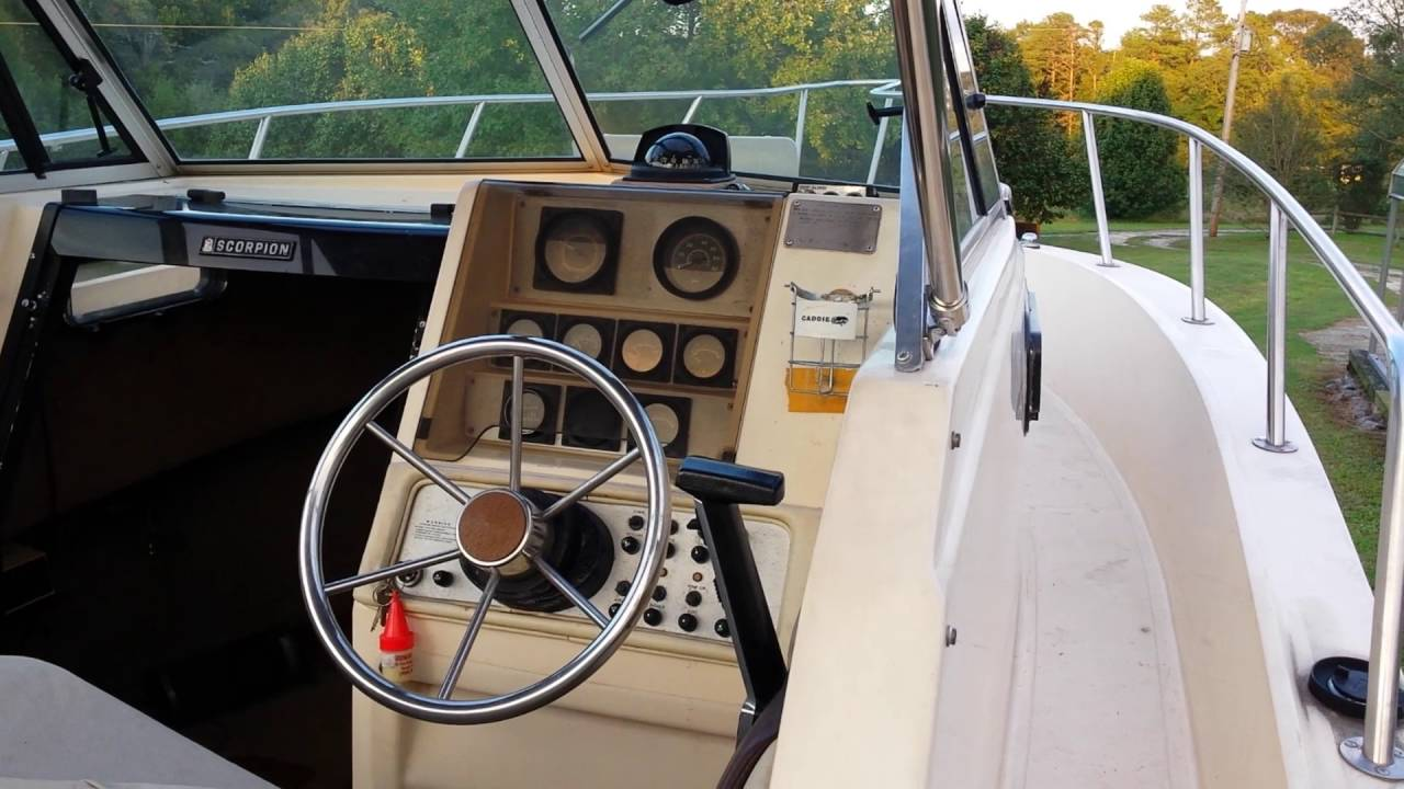Chris Craft Scorpion 215 video 1