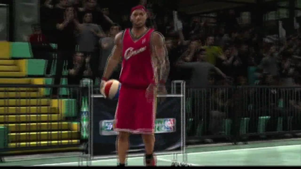 293b00606b22 NBA 2K10 Dunk Contest Gameplay - Lebron
