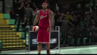 NBA 2K10 Dunk Contest Gameplay - Lebron, Smith, Howard, & Wade