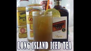 Long Island Iced Tea Recipe | How To Make Long Island Iced Tea