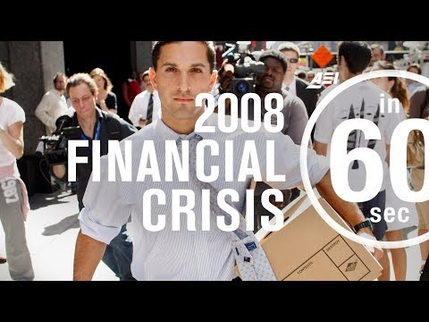 2008 financial crisis: How do Americans feel now? | IN 60 SECONDS